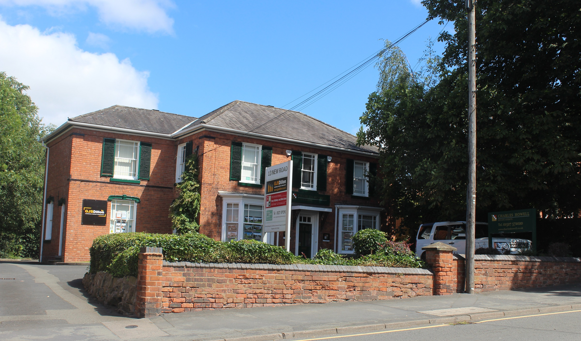 Our office is located at 13 New Road, Bromsgrove